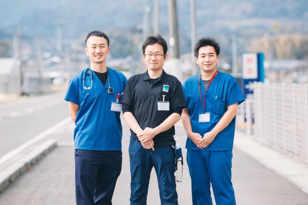 医師達の写真